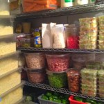Pino's Pizza pantry items for making pizza at Pino's Pizza